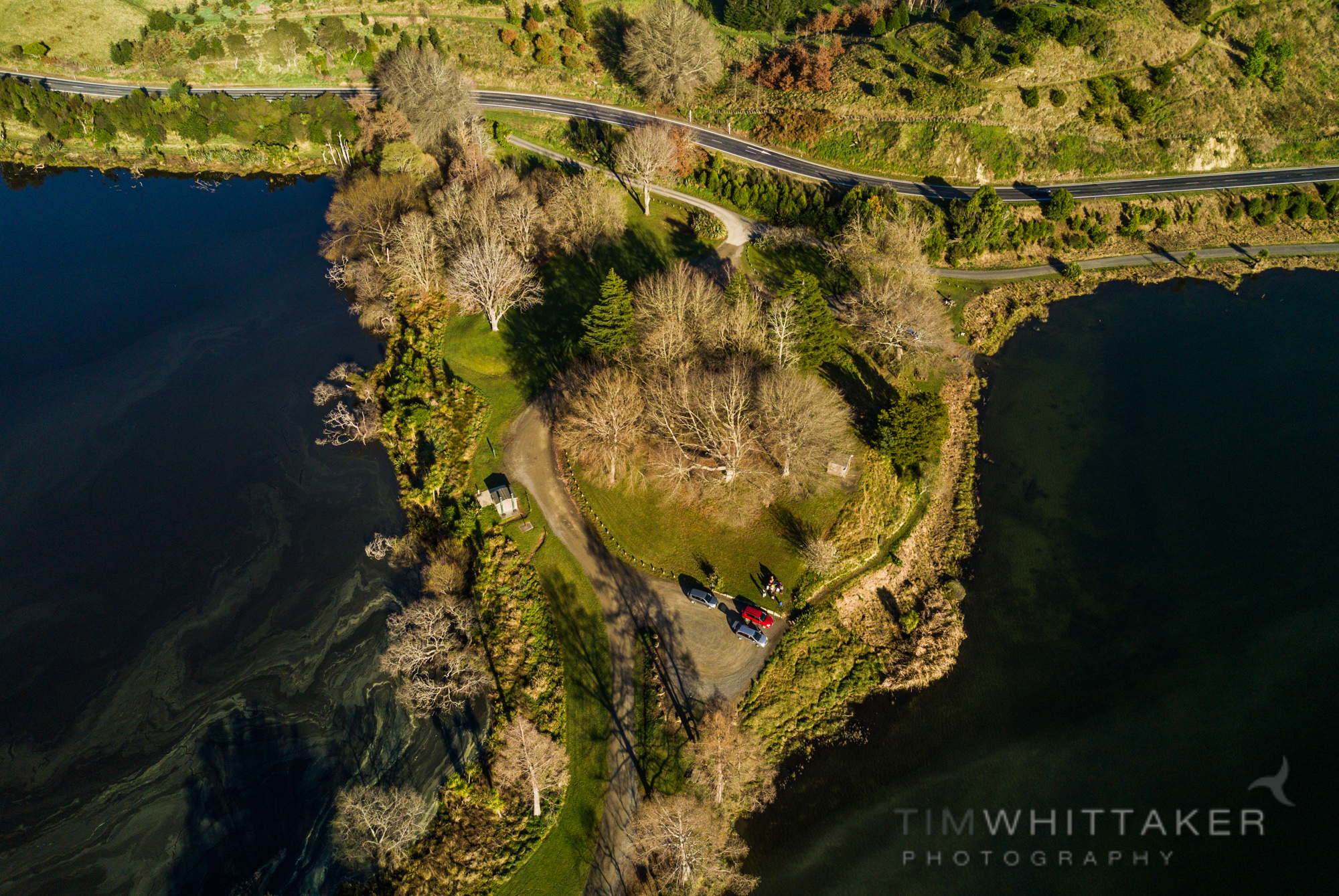 Lake Tutira, Spring, Hawkes Bay
